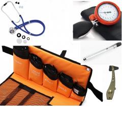 Handmatige bloeddrukmeter all in one set, premium quality (5 manchetten) ST-A78S-SET