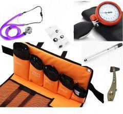 Handmatige bloeddrukmeter all in one set, premium quality (5 manchetten) ST-A79S-SET