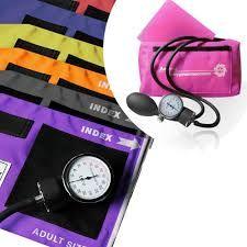 Handmatige bloeddrukmeter basis set met stethoscoop ST-A088