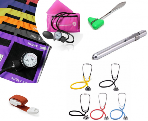 Handmatige bloeddrukmeter basis set met stethoscoop ST-A092