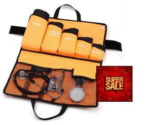 Handmatige bloeddrukmeter all in one set, premium quality (5 manchetten) ST-A81S-SET