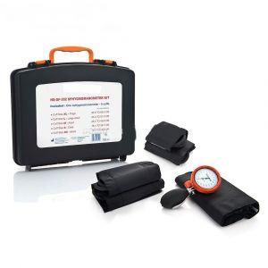 Handmatige bloeddrukmeter all in one set, in stevige koffer (5 manchetten) incl cardiologie stethoscoop ST-P96X